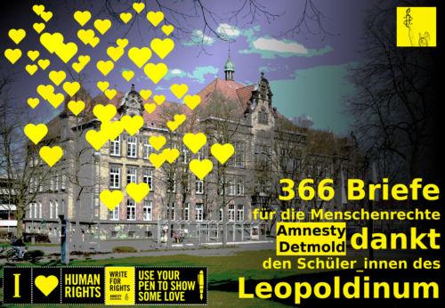 Amnesty Detmold dankt