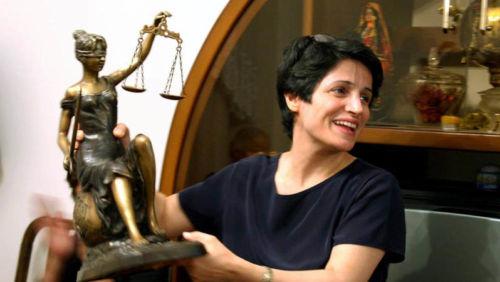Die iranische Anwältin Nasrin Sotoudeh