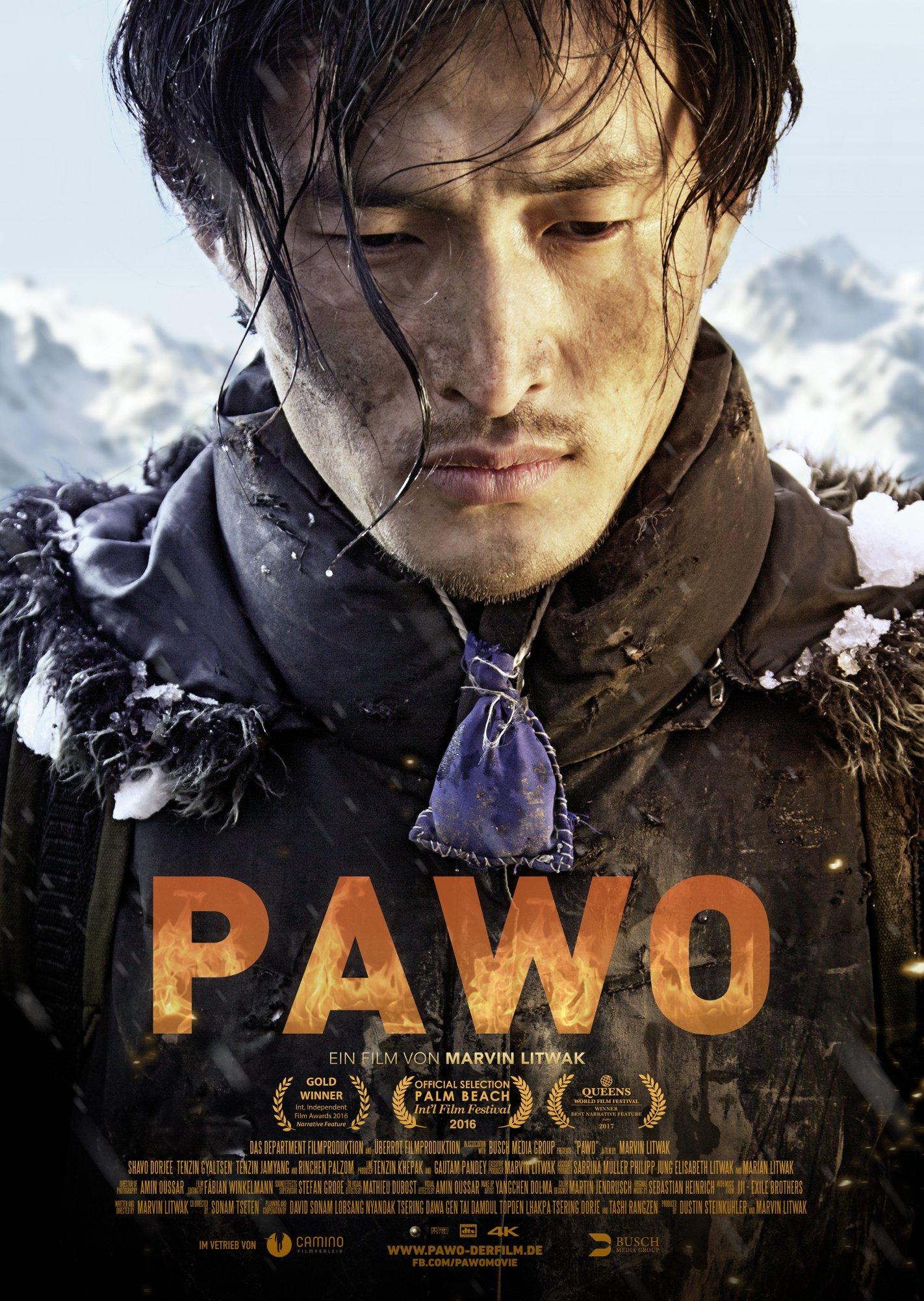 "Filmplakat ""Pawo"""