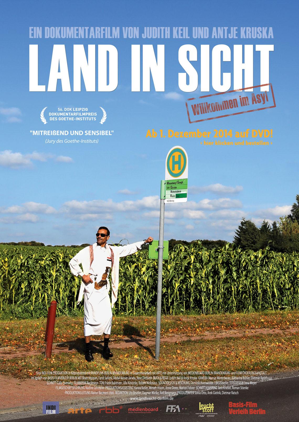 """Plakat """"Land in Sicht"""""""